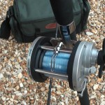 JD 500 multiplier reel level wind giving good lay of the line