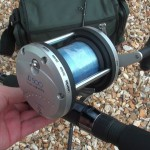 JD 500 multiplier reel low cost reel ready to fish complete with 30lb mono