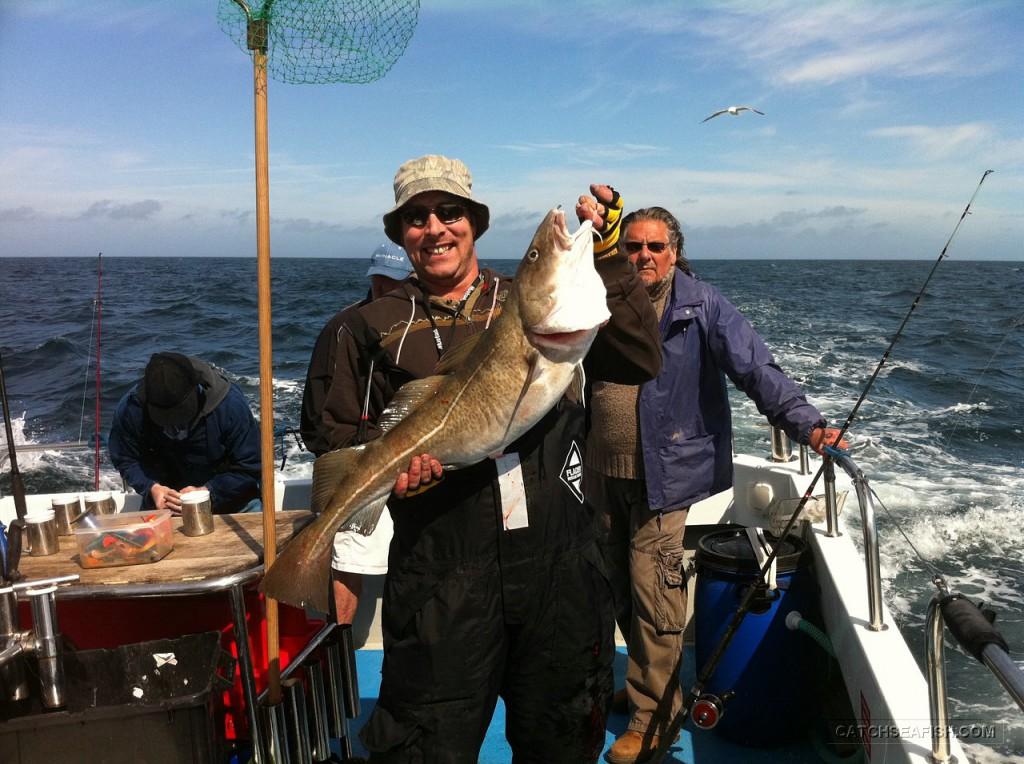Weymouth cod fishing trip