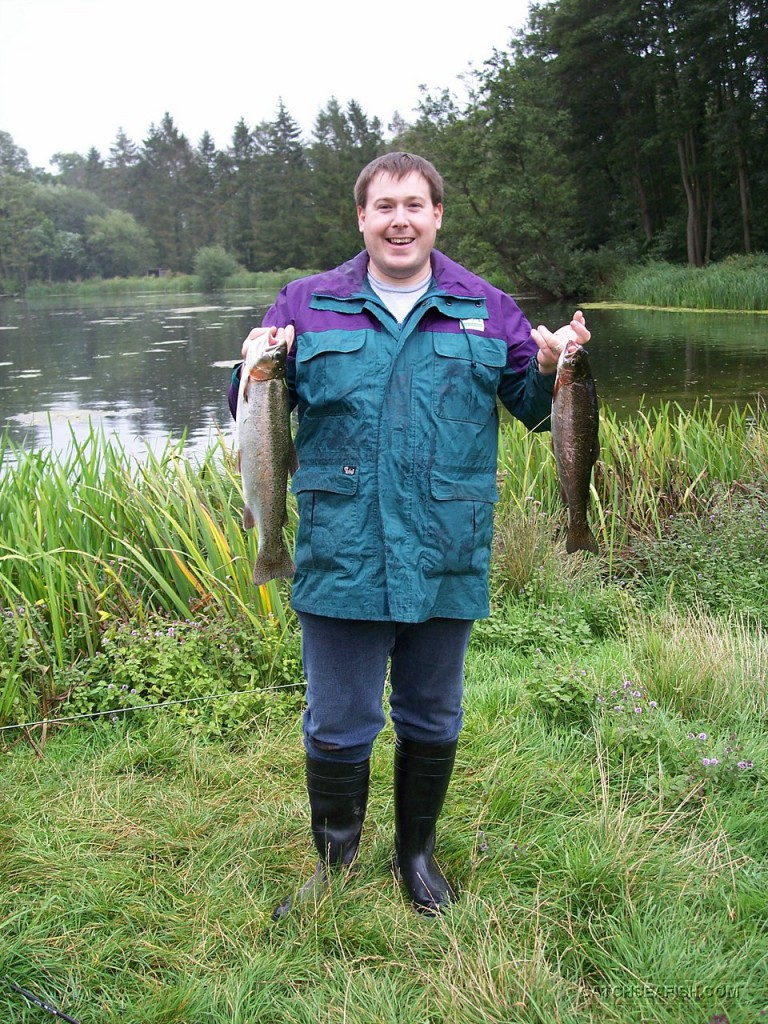 Brace of Rainbow Trout