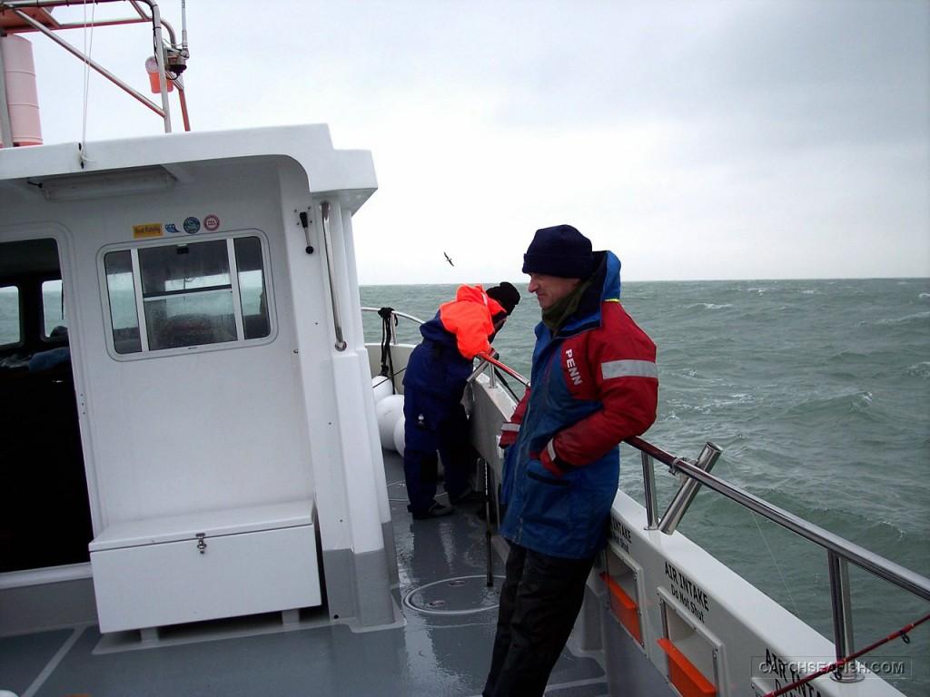 True blue charter boat