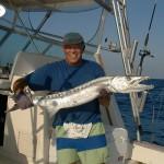 Eddystone eels catch2
