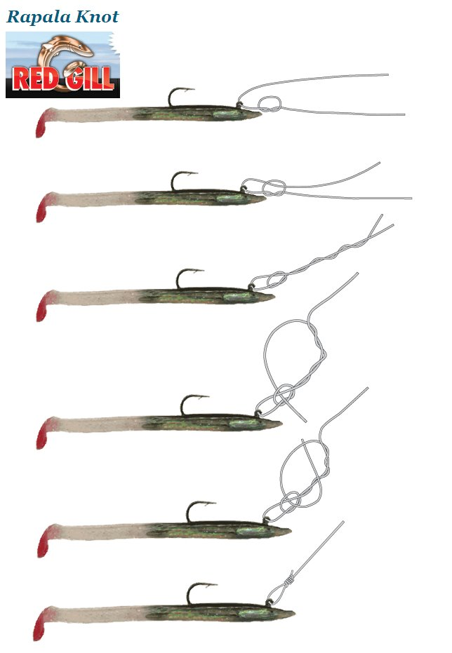 How to tie the Rapala lure knot