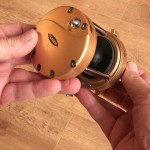 Vantage 880 gold multiplier reel ratchet on or off