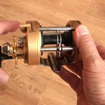 Vantage 880 gold multiplier reel level wind giving good lay of the line
