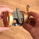 Vantage 880 gold multiplier reel strong body construction