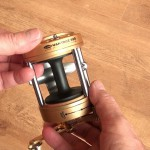 Vantage 880 gold multiplier reel high capacity spool