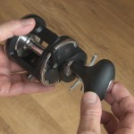 Vantage CA30L multiplier reel physical size of the winding handle