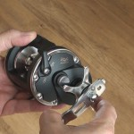 Vantage CA30L multiplier reel click stop star drag for fine tuning to suit your line b.s.