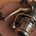 Freespool 80 fixed spool reel close up on quality