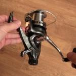 Freespool 80 fixed spool reel overall view
