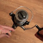 Freespool 80 fixed spool reel adjustable front clutch
