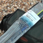 Powerstick beachcaster 12ft rod supplied in a clearview bag