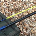 Powerstick beachcaster 12ft rod with sensative tip and reflective finish