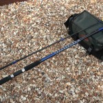 Powerstick beachcaster 12ft rod two sections general view