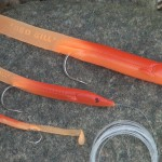 Red Gill original imitation sand eels