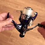 Tectonic 7600 fixed spool reel well balanced design