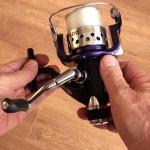 Tectonic 7600 fixed spool reel well engineered bale arm rotor
