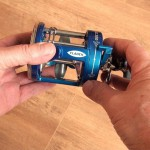 Vantage 300 multiplier reel thumb poition built in