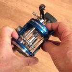 Vantage 300 multiplier reel strong body construction