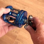 Vantage 300 multiplier reel auto close of the freespool control