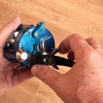 Vantage 300 multiplier reel star drag for fine adjustment to suit line b.s.