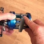 Vantage 300 multiplier reel easy to service level wind mechanism