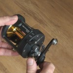 Warbird 2030 multiplier reel in the off free spool position it auto resets to on when winding the handle