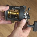 Warbird 2030 multiplier reel corrosive resistant high quantity spool