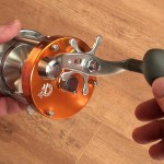 Warbird 3800 multipler reel large winding handle for plenty of grip