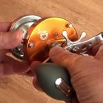 Warbird 3800 multipler reel star drag for fine adjustment to suit your line b.s.