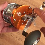 Warbird 3800 multipler reel freespool button just dpress and it auto resets when handle wound