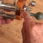 Warbird 3800 multipler reel spool drag adjustable to reduce line overruns