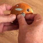Warbird 3800 multipler reel overrun adjuster on opposite side for dual control