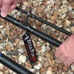 Xtra Flexx Surfcast rod base ring ready to cast suits fixed spool reels