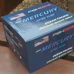 Mercury Mako with line on supplied in box