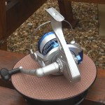 Mercury Mako with line on reel saddle will fit most reel winches