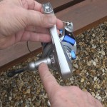 Mercury Mako with line on alloy handle