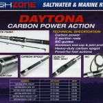 Daytona Carbon power action range of rods