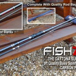 Daytona superspin 9ft Carbon Power rods 01