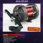 Acapulco marine multiplier with mono line on