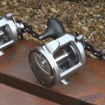 Spyder Marine high speed multipliers both even have comfort stops for your thumb