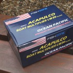 Acapulco marine multiplier with mono line on supplied boxed