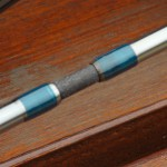 Ocean travel The Acapulco Mariner 4 piece rod strong rod spigots oversize to allow the rod to bed in over time