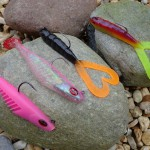 Red Gill mega vibes and twin tail rurbo lures