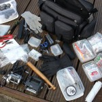 Neat compact functional tackle and equipment easy to access to find what you need quickly