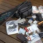 3 rods, reels and all the tackle anyone could need