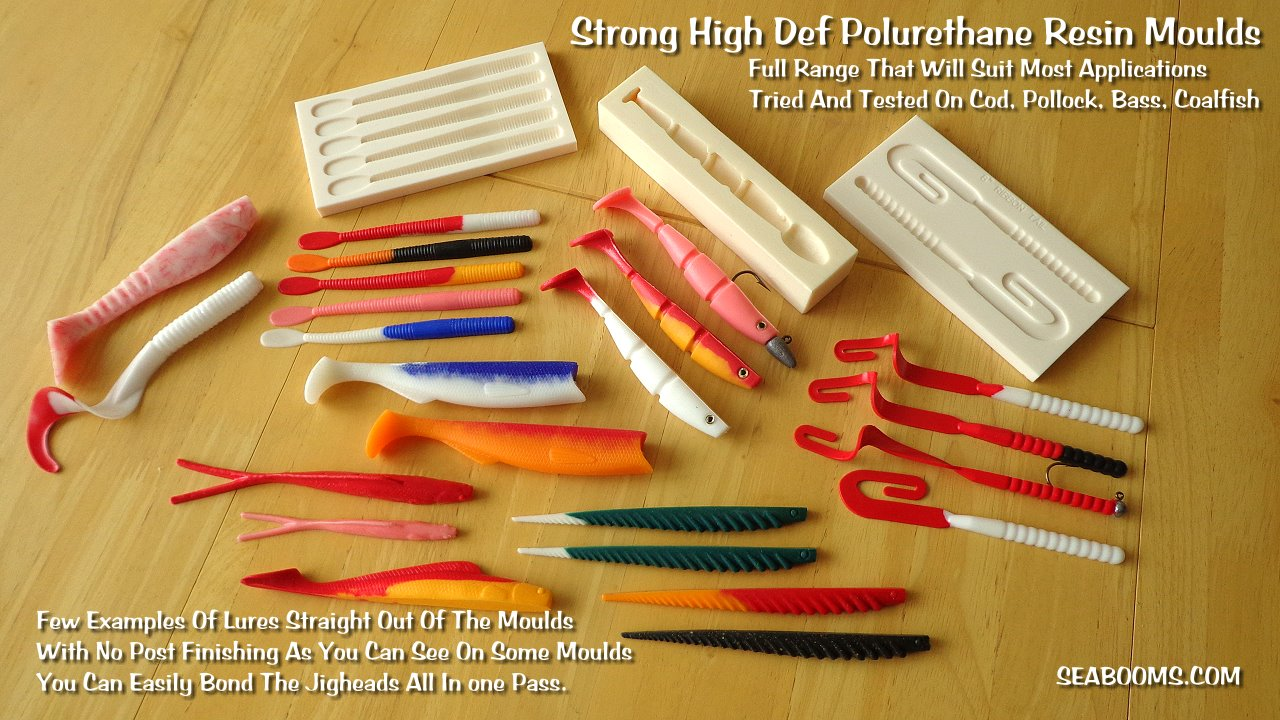 Lure making kits make your own fishing lures - Soft Plastic Lure Moulds Diy Lure Making Sea Fishing Tackle And Hard Baits Worm Making Kit Make Your Own