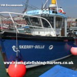 Skerry Belle charter boat out of Ramsgate Kent