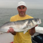 Fishing for Bass off Ramsgate Kent